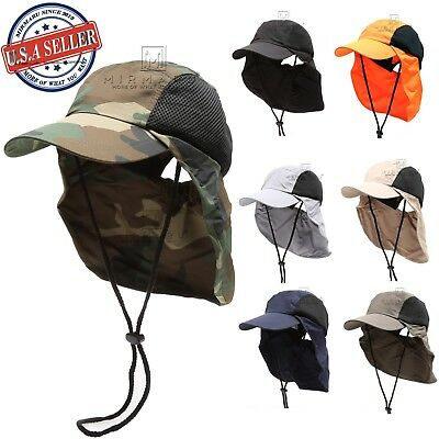 $12.99 • Buy MIRMARU Men And Women's Summer Outdoor Sun Protection Safari Bucket Hat Cap
