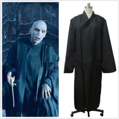 £36.90 • Buy NEW Lord Voldemort(Tom Marvolo Riddle Black Cosplay Costume  H.040
