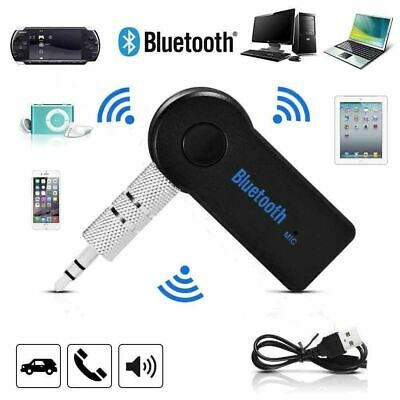 £5.99 • Buy Wireless Car Bluetooth Receiver Adapter 3.5MM AUX Audio Stereo Music UK STOCK