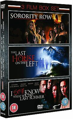 £3.39 • Buy Sorority Row / Last House On The Left / I Still Know What You Did Last Summer...