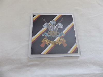 £4.70 • Buy 3rd CARABINIERS ( PRINCE OF WALES'S DRAGOON GUARDS ) LARGE COASTER