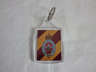 £3.90 • Buy 3rd ( PRINCE OF WALES'S ) DRAGOON GUARDS KEY RING REFS:-A5