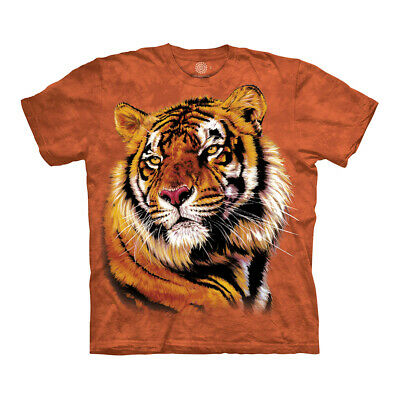 $19.90 • Buy The Mountain Power And Grace Tiger Adult Unisex T-Shirt