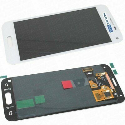 Screen Digitizer For Samsung Galaxy S5 SM-G800 Mini Complete White Touch Glass • 26.40£