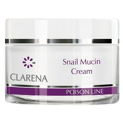 £28.99 • Buy Clarena Poison Snail Mucin Regenerating Face Cream With Snail Mucus 50ml