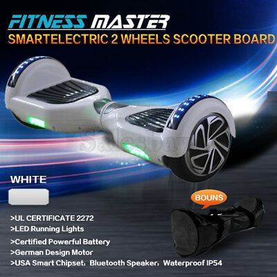 AU289.99 • Buy Smart Self Balancing Hoverboard Electric 2 Wheel Scooter Hover Board White