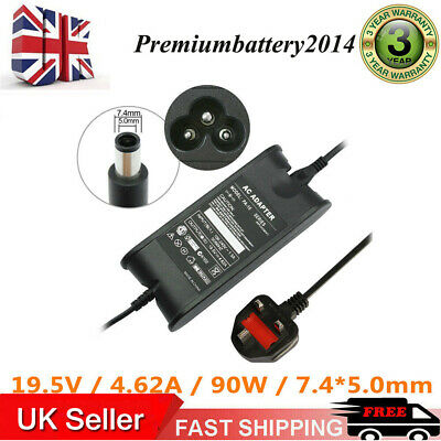 £10.99 • Buy 90W For DELL PA-3E STUDIO 15 1535 1555 1557 1558 1735 1737 Charger Adapter Lead