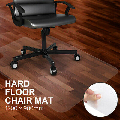 AU29.99 • Buy New Hard Floor Chair Mat Thick Vinyl Protect Plastic Office Work 120 X 90cm