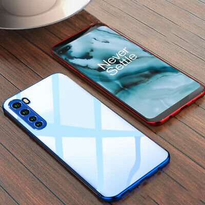 AU3.46 • Buy For OnePlus 7T Pro 7 6 5T Plating Clear Shockproof Slim Soft Silicone Case Cover