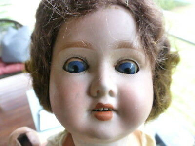 Schoenau Hoffmeister Doll 1909 - W/ Some Clothes Approx. 16  • 89$
