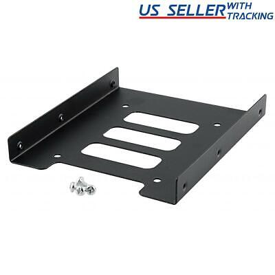 AU5.09 • Buy 2.5  To 3.5  Bay SSD Metal Hard Drive HDD Mounting Bracket Adapter Dock / Tray