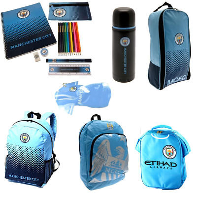 Manchester City Back To School Gym Bag Backpack Boot Bag For Boys And Girls  • 4.25£