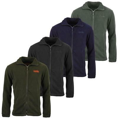 Mens Game Stealth Fleece Hunting Jacket   Camping Hiking Fishing Outdoors • 14.95£