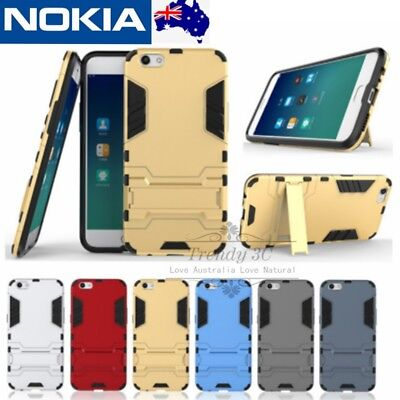 AU7.99 • Buy Nokia 2.1/3/5/6/8/7 Plus Shockproof Heavy Duty Bumper Tough Case Cover