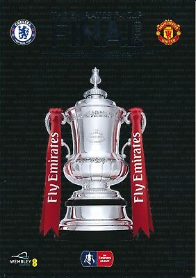 £7.99 • Buy FA CUP FINAL PROGRAMME 2018 Chelsea V Manchester United