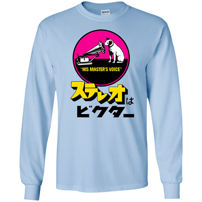 Retro, Nipper, HMV, Electronics, Radio, Japanese, Japan, Stereo, Music, Retro T- • 16.88£