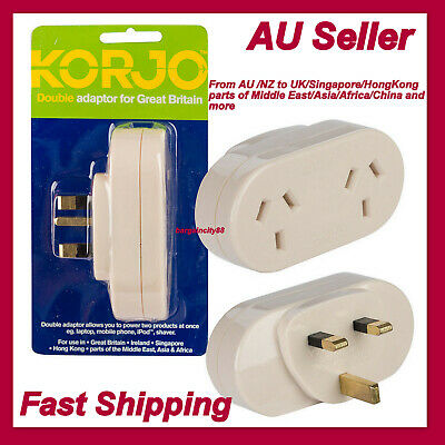 AU56.04 • Buy Travel To UK Great Britain England Plug Power Adapter Converter Charger From AU