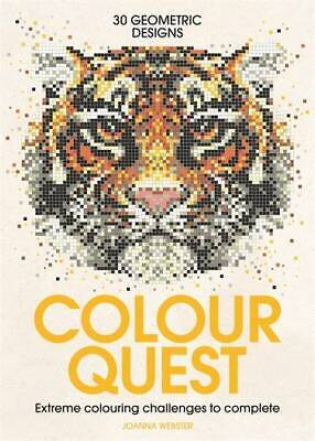 Colour Quest (Colouring Books), Webster, Joanna, New • 8.59£
