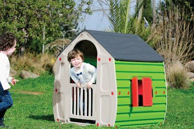 Childrens Playhouse Wendy House Magical Multicolour Play House By Starplast Grey • 54.95£