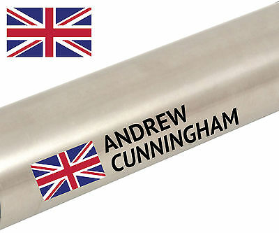 Personalised Named Cycle Frame Cycling Helmet Bike Team Tour Sticker Decal  • 4.15£
