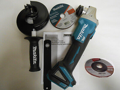 AU189.99 • Buy  Makita XAG04Z Brushless 5  125mm Angle Grinder Cordless Cut-off Tool 18V DGA504