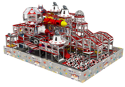 £55005.98 • Buy 1,750 Sqft Commercial Indoor Playground Themed Interactive Soft Play We Finance