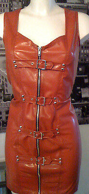 £69.99 • Buy The Federation Rubber Latex Buckled Spanking Dress Brand New Cross Dress