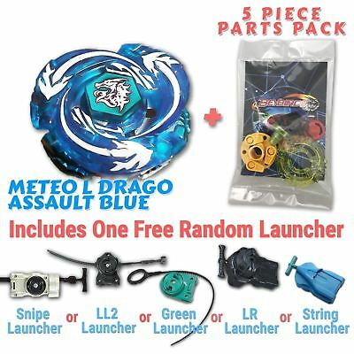 AU10.99 • Buy Meteo L-Drago Assault BB-98A Beyblade W/ Free Launcher & Tips / Parts /Card Pack