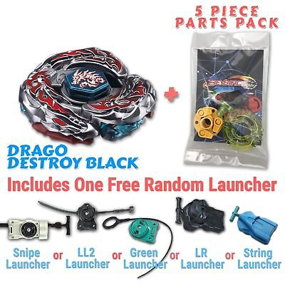 AU10.99 • Buy L-Drago Destructor F:S Beyblade W/ Free Launcher & Tips / Parts / Card Gift Pack