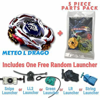 AU10.99 • Buy Meteo L-Drago BB-88 Beyblade W/ Free Launcher & Tips / Parts / Card Gift Pack