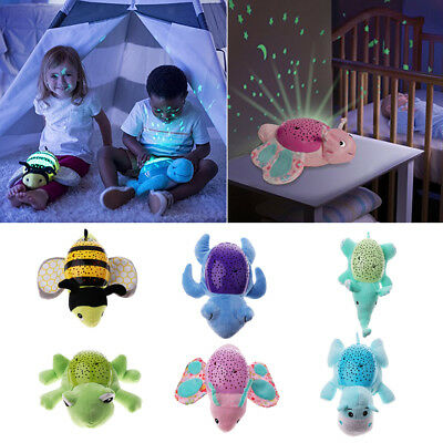 Night Light Music Animal Lamp Moon Star Projector For Baby Kids Toy Sleep Light • 15.10£