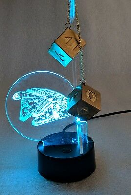 $25 • Buy Millennium Falcon Dice Stand, Han Solo Dice Stand, DICE NOT INCLUDED.