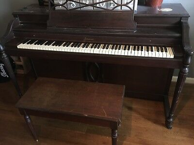 $135 • Buy 1953 Used Baldwin Acrosonic 88-key Spinet Piano, Local Pick-up Only