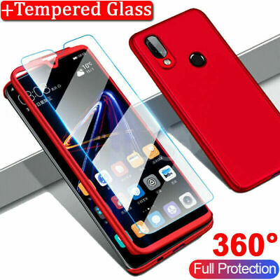 AU10.98 • Buy For OPPO A73 AX5S  AX7 AX5S 360°Shockproof Full Body Tempered Glass Case Cover