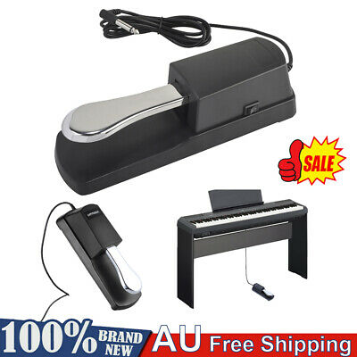 AU17.50 • Buy Electric Piano Keyboard Sustain Damper Pedal Foot Switch For Casio Yamaha Roland