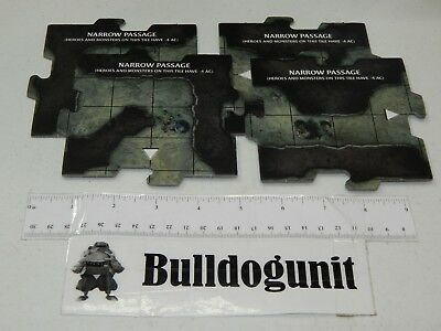 AU13.06 • Buy Dungeons & Dragons Legend Of Drizzt Game 4 Narrow Passage Cavern Tiles Only