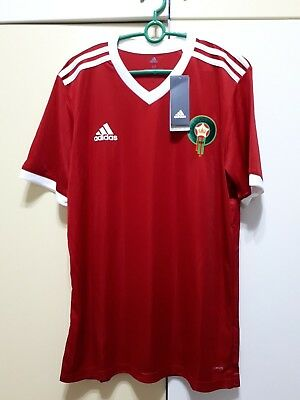 fa95f12c7e5 Morocco National Team Football Soccer Home Jersey World Cup 2018, BNWT,  Adidas • 89.99