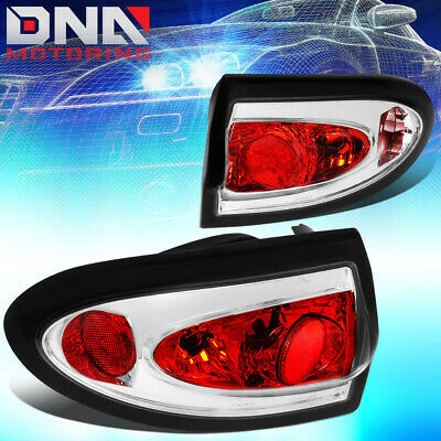 $68.88 • Buy For 2003-2005 Chevy Cavalier Pair Chrome Housing Altezza Tail Light Brake Lamps