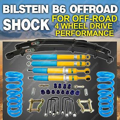 AU1695 • Buy Bilstein Shock Coil EFS Leaf 50mm Lift Kit For Mitsubishi Triton ML MN 06-on