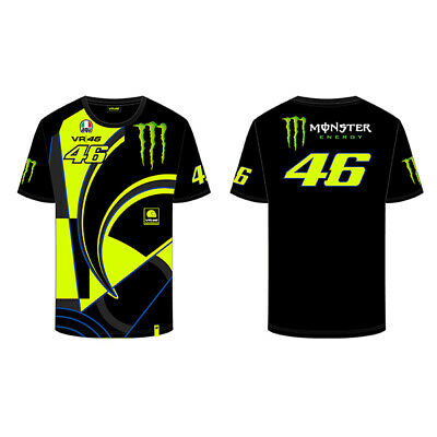 fa66dabaaab4 Valentino Rossi MONSTER Mens T-Shirt The Doctor Official MotoGP Merchandise  VR46 • 48.72$