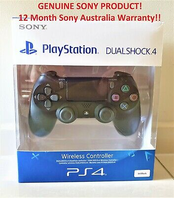 AU79 • Buy Genuine Sony Playstation 4 PS4 Controller V2 DualShock Black Brand New