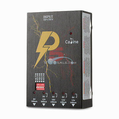 $ CDN92.50 • Buy Caline P5 ISOLATED Power Supply Guitar Effects Pedal Outlets Power Supply 9V/12V