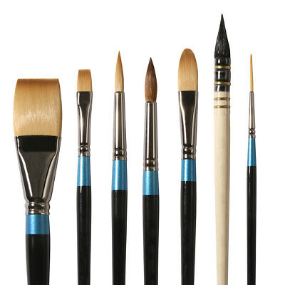 £6.65 • Buy Daler Rowney Aquafine Watercolour Paint Brushes In Assorted Shapes And Sizes