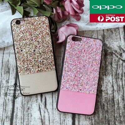 AU8.99 • Buy OPPO R15 Pro A57 R11s R9s Plus Bling Sparkle Glitter Pattern Hard Case Cover