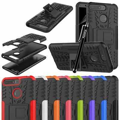 For Huawei Y6 2018 Case, Heavy Duty Armour Tough Quality Shock Proof Cover Pouch • 4.45£