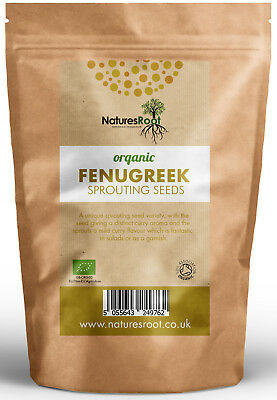£14.99 • Buy Organic Fenugreek Sprouting Seeds - Garden Superfood Non GMO Microgreen Sprouts