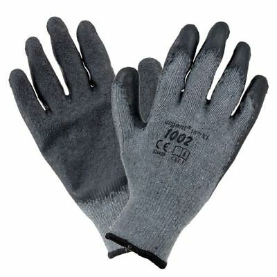 £10.99 • Buy 12 Pairs Hand Protection Work Safety Gloves Builder Gloves Home/Construction