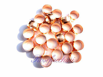 £1.80 • Buy Caravan Hard Round Compression Air Oil Lpg Fitting Gas Copper Band Pipe Olives