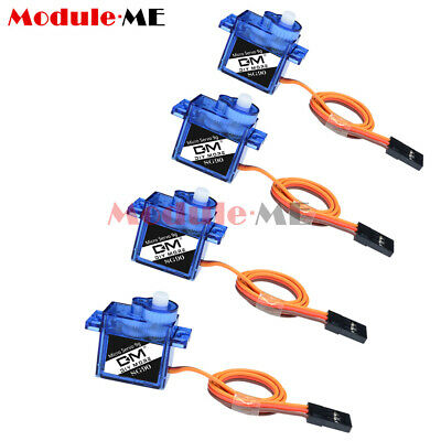AU7.93 • Buy 4PCS Mini Micro 9G SG90 Servo For Car Boat RC Robot Helicopter Airplane