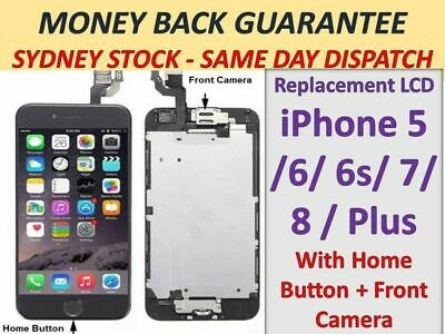 AU33.36 • Buy For IPhone 6 6s Plus 5s LCD Screen Replacement Digitizer Display FULL Assembly